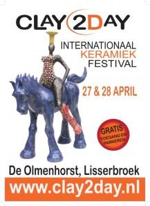 Clay2day op Landgoed De Olmenhorst in Lisserbroek