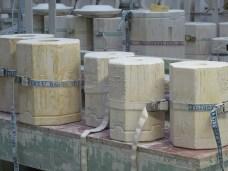 Mallen voor vazen in de fabriek