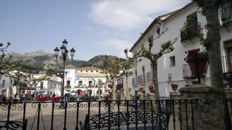 Het witte dorpje Grazalema.