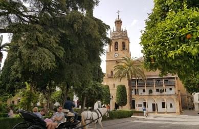 Ook de oude stad van Ronda is zeer de moeite waard om te bekijken.