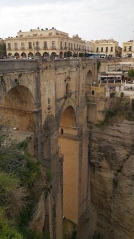 De brug over de kloof in Ronda.