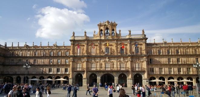 Volgens sommigen is het Plaza Mayor van Salamanca het mooiste plein van Spanje.