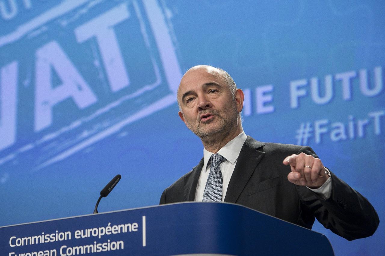 """Draghi, Moscovici, il """"sostegno"""" al governo e il sostegno all'Italia"""