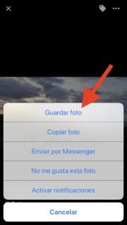 Cómo descargar fotos de FACEBOOK directamente en tu iPhone
