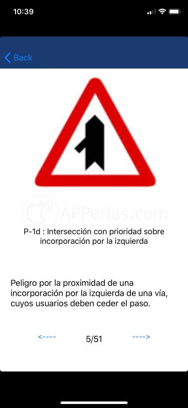 Significado de la señal de tráfico