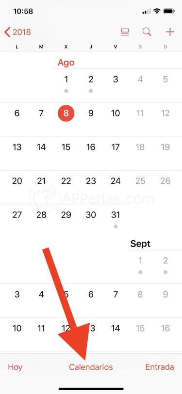 Crea un nuevo calendario