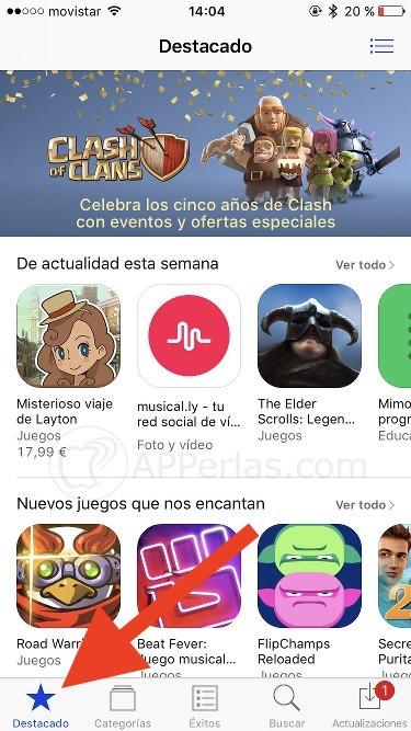 Cómo descargar un promocode en la App Store