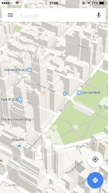 Google Maps apps para vacaciones