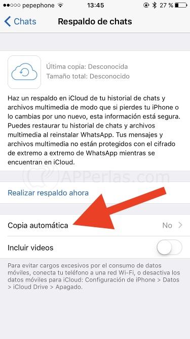 Configurar Whatsapp 4