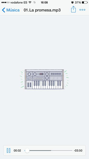 reproductor de música 2