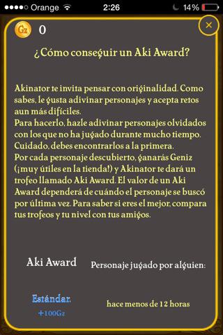 Akinator y los Aki Award