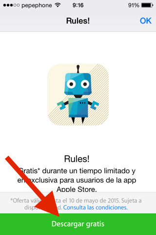 Rules! gratis iOS