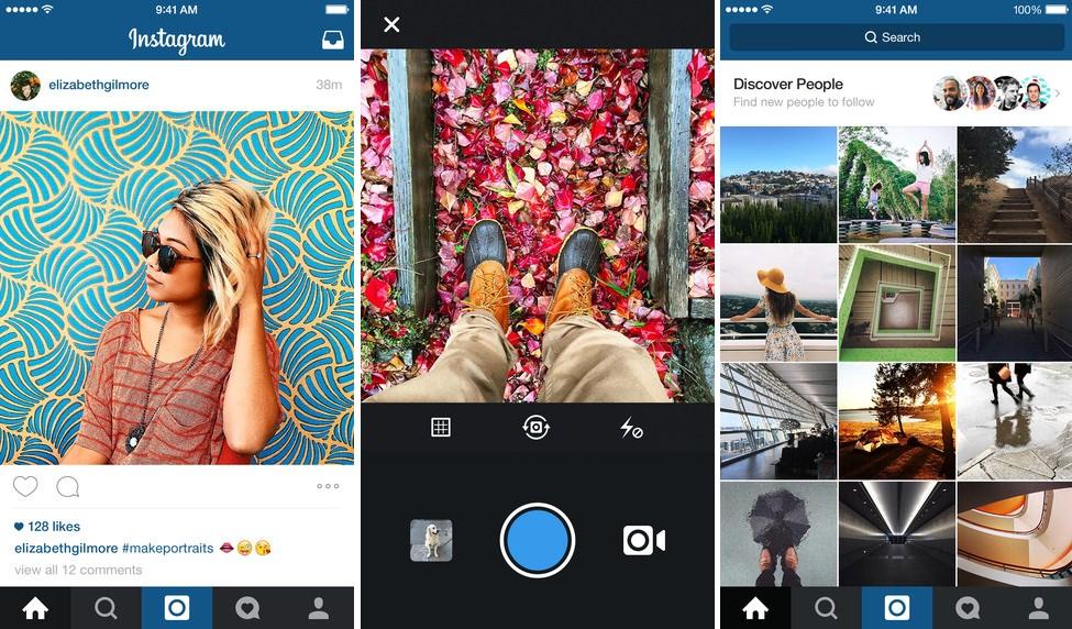 Instagram 7.0 iphone