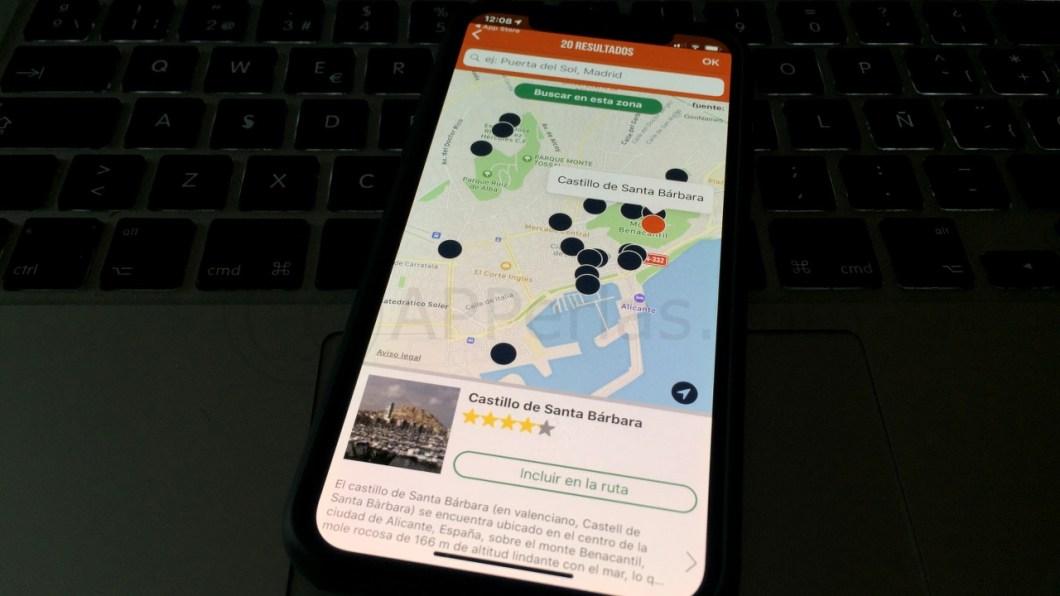 MyTRIPS app de rutas