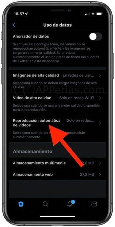 Reproducción automática de vídeos en Twitter