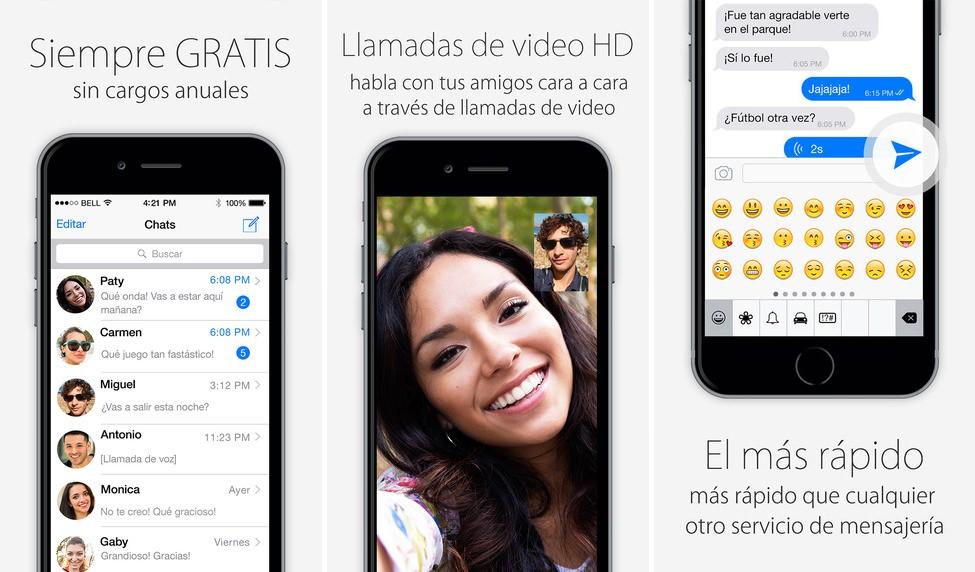 Soma Messenger app iPhone