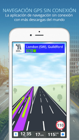 Sygic gps para iPhone y iPad