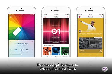 Apple Music en iPhone