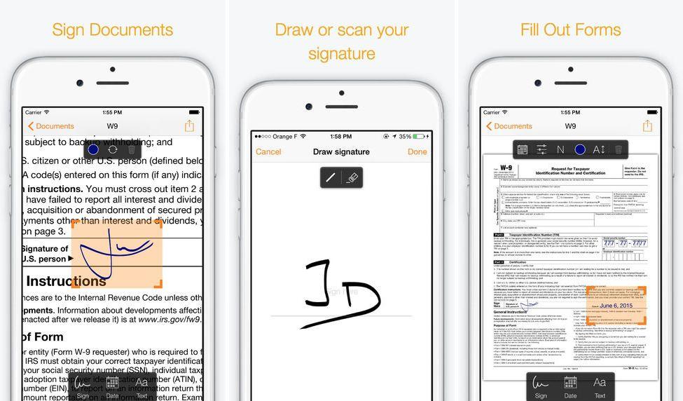 Genius Sign firmar documentos PDF