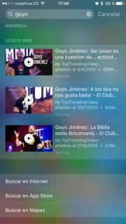 rendimiento de iOS 9 1