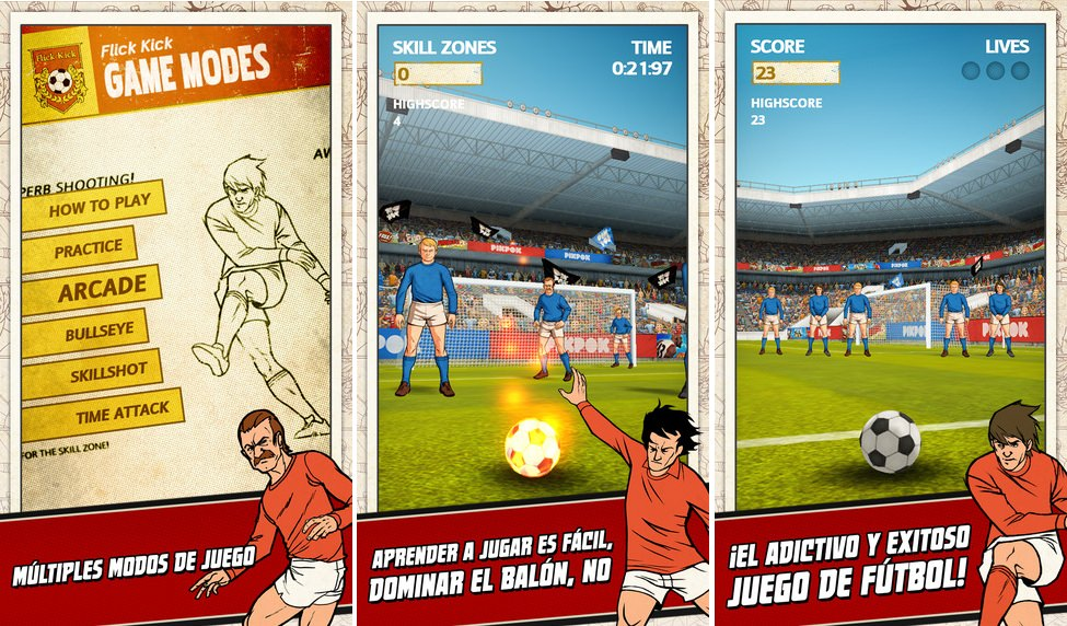 Flick kick football compo