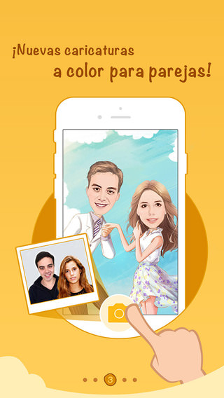 Momentcam 2.8.2 caricaturas a color