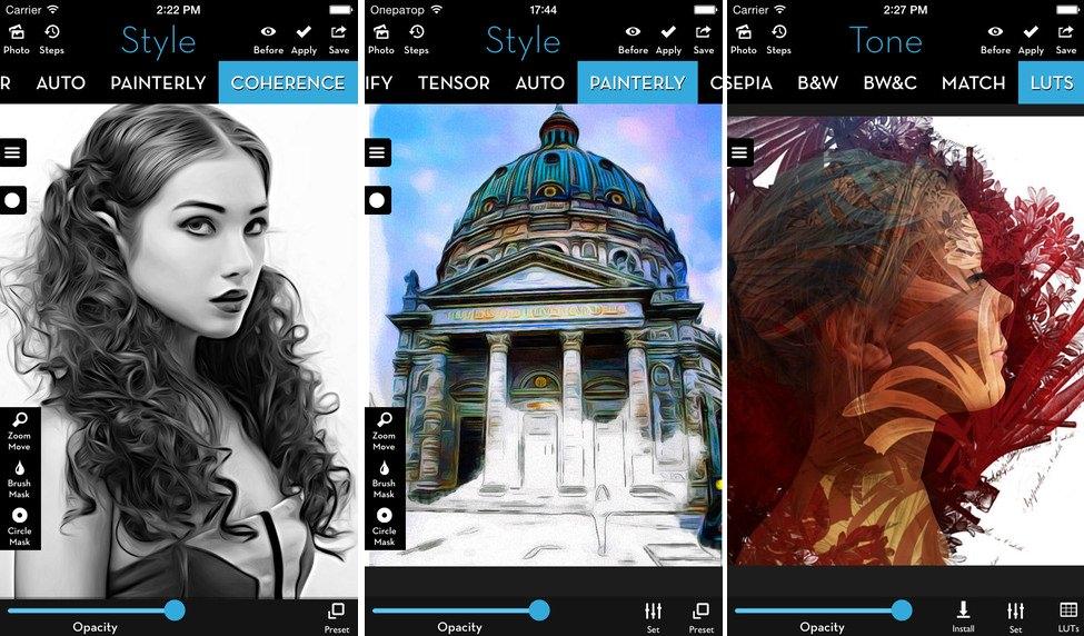 iColorama S iOS