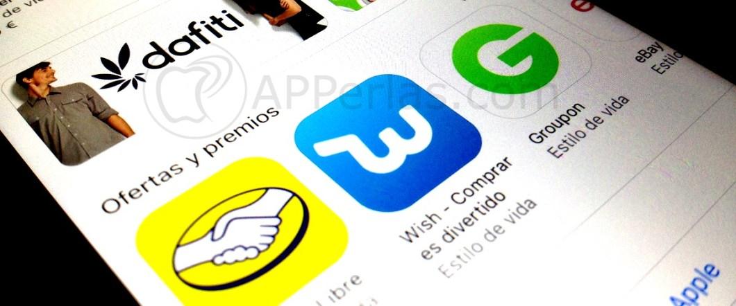 Sección compras app store
