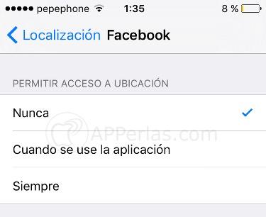 Facebook solución consumo 2