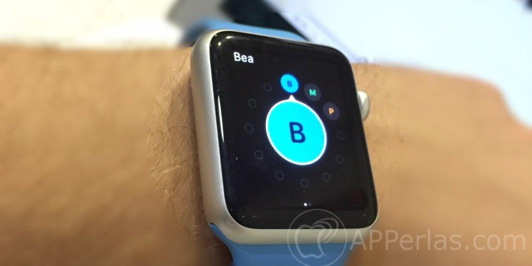 favoritos en el Apple Watch