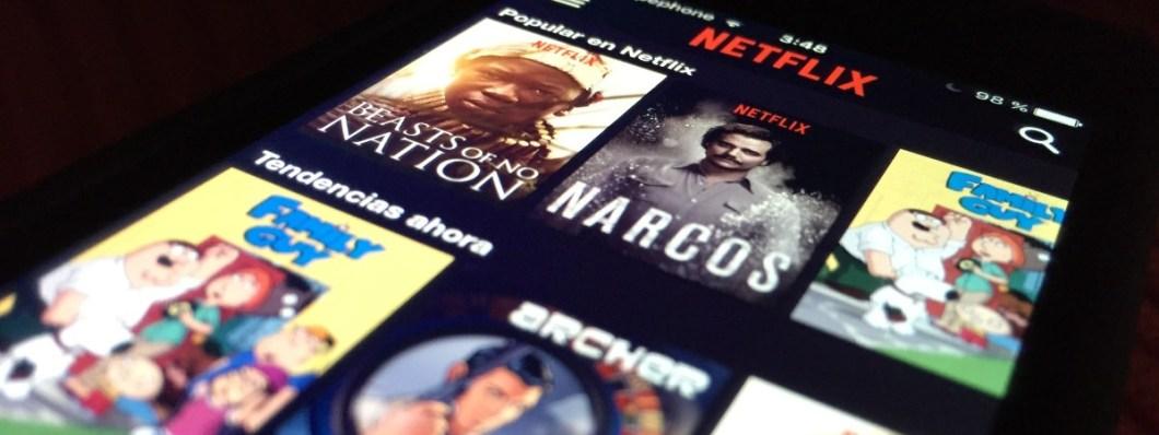 Netflix a pantalla completa