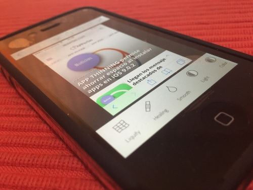 App Photoshop para iPhone