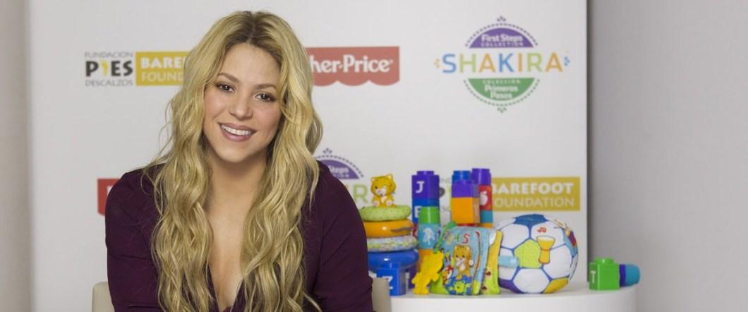 Shakira grow