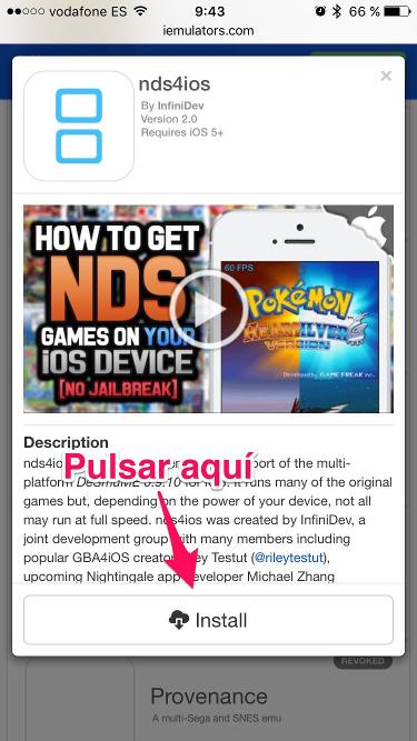 Nintendo en el iPhone 3