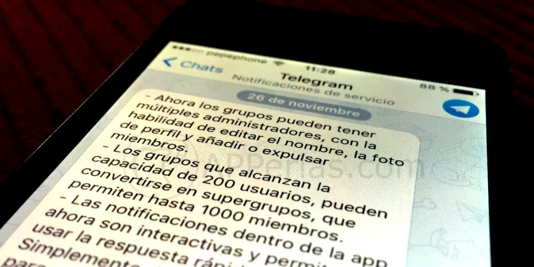 Telegram 3.3