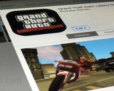 GTA Liberty City Stories disponible para iOS