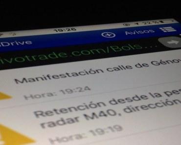 SocialDrive te ayuda en tus trayectos en coche