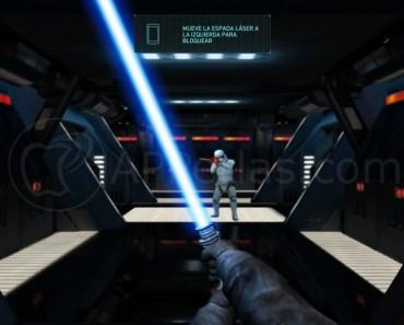 Convierte tu iPhone en una espada láser de la Guerra de las Galaxias
