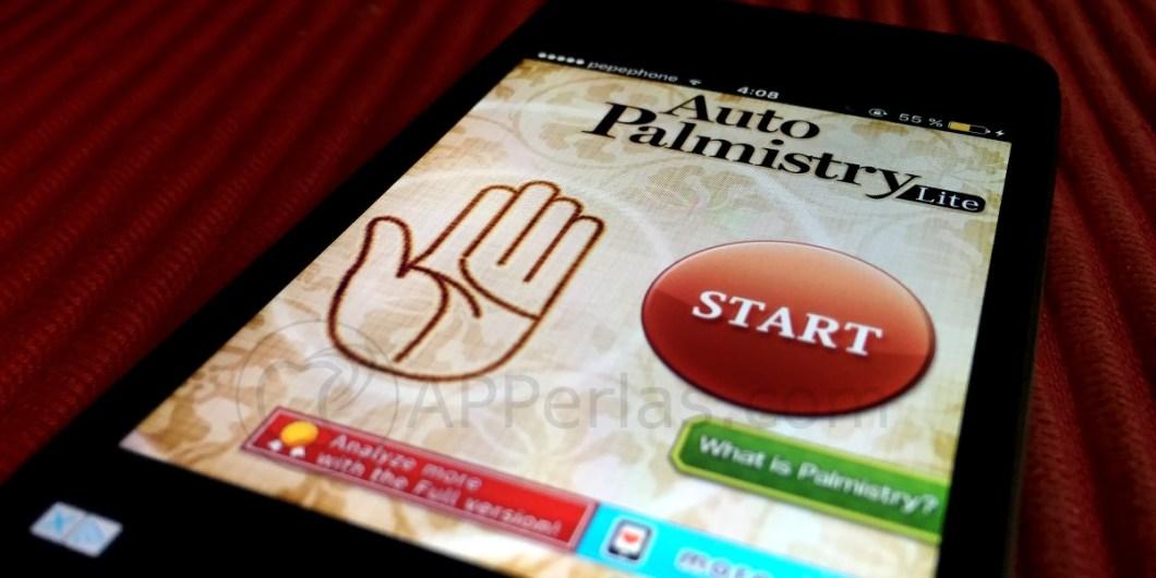 Lee la mano con el iPhone
