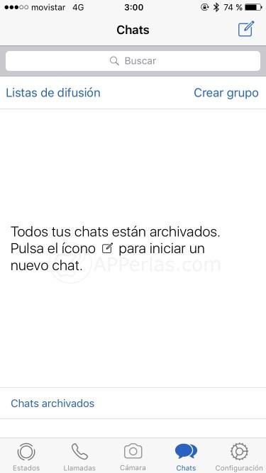 Conversaciones Whatsapp