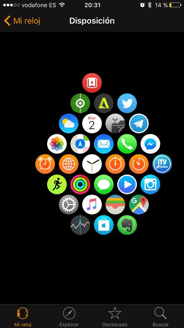 mi Apple Watch 1