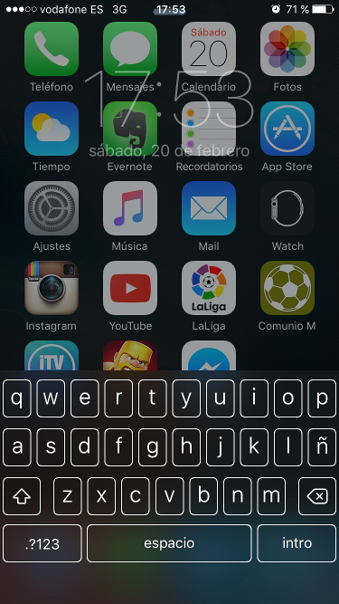teclado bloqueado 1