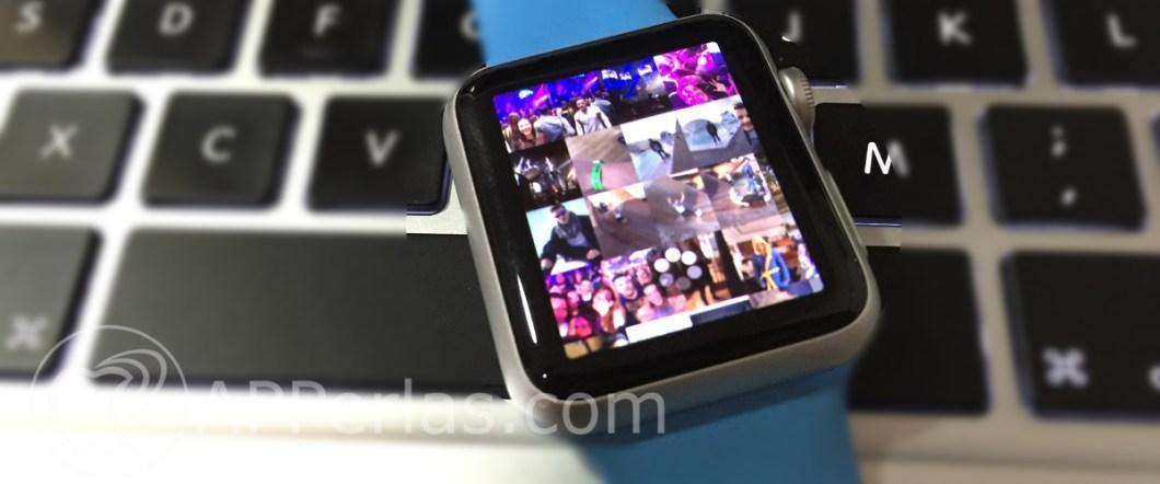 fotos del iPhone con el Apple Watch