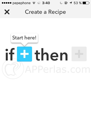 instagram en twitter IFTTT