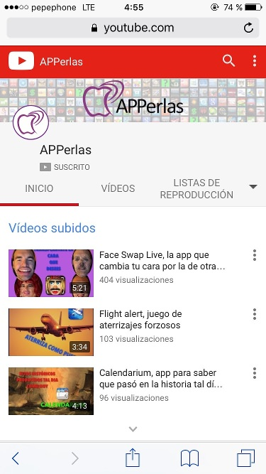 Web app youtube