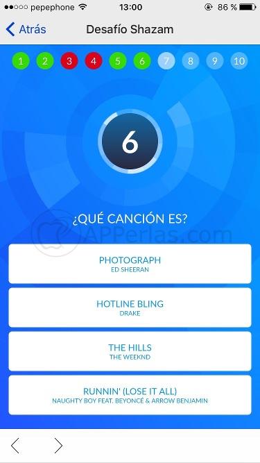 Juegos de Shazam preguntas