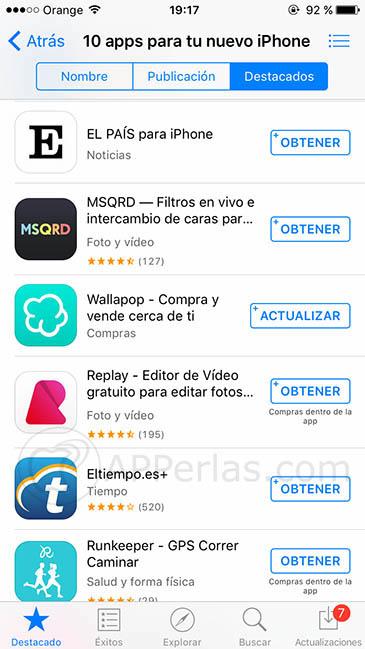 Apps nuevo iphone 2
