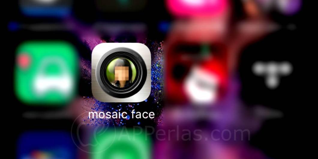 Mosaic face pixelar una cara