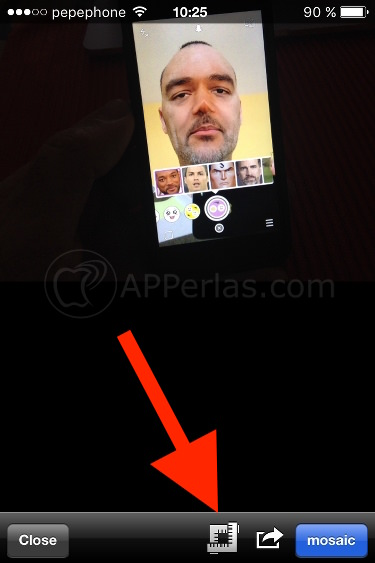 Cómo pixelar una cara