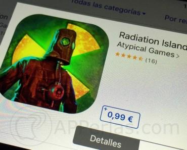 RADIATION ISLAND baja de precio y es de las apps más descargadas